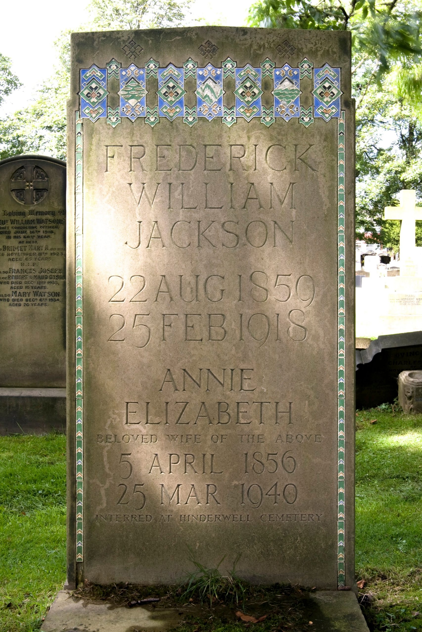 FW Jackson grave