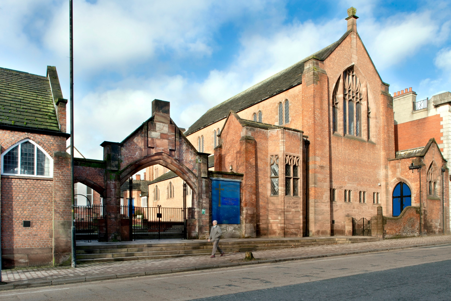 Long Street Methodist Church and School Middleton